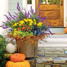 Fall Containter of the month/cover try. Carmen Johnston created this container